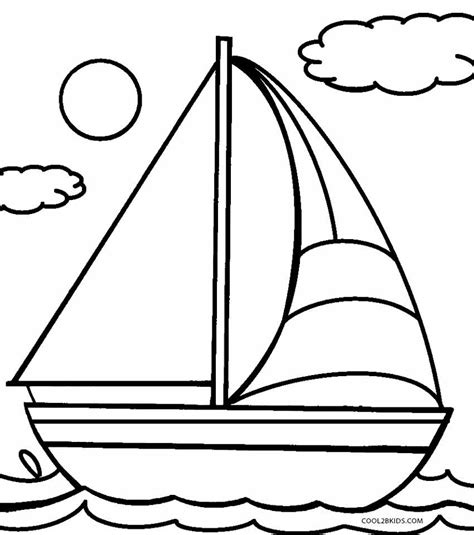 Transportation For Kids Coloring Pages An For Coloring
