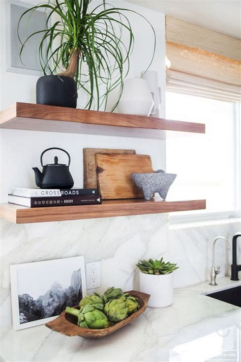 decorating kitchen shelves ideas kitchen ideas with floating shelves kitchen ideas with