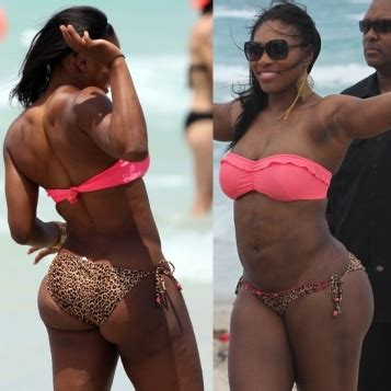 Williams Will Bare All Again by Assets Serena Williams Flaunts It In A Itty Bitty