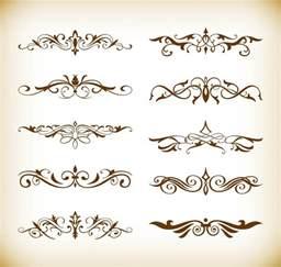 decorative design decorative elements vector set for your design free