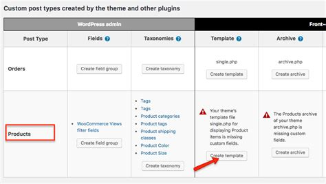 create a new page template create templates for woocommerce product pages with toolset