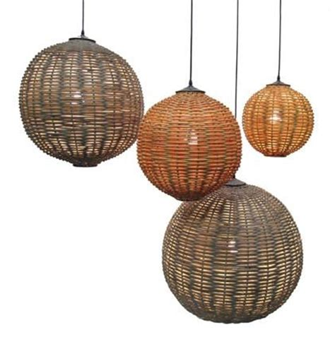 rattan lights inner gardens lighting ruby rattan light fixture