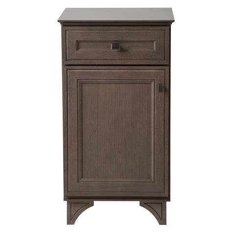 Home Decorating Collection by Home Decorators Collection Albright 19 In W Bath Vanity Cabinet Only In Winter Gray 19fvb18