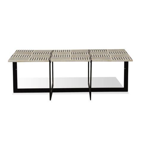 Bone Inlay Coffee Table Joshua Bone Inlay Coffee Table Industrial Chic Style Furniture Oli Grace