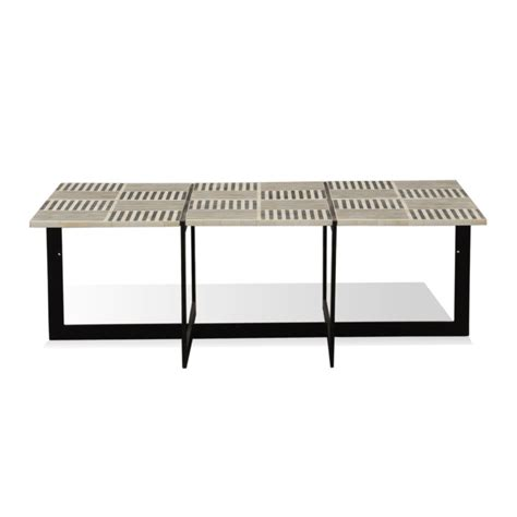 bone inlay coffee table joshua bone inlay coffee table industrial chic style