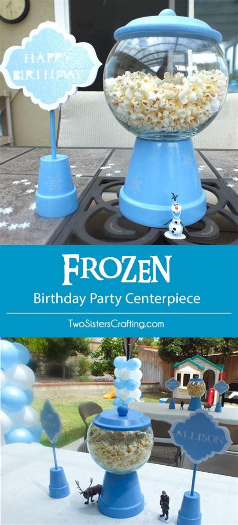 Disney Frozen Centerpiece Two Sisters