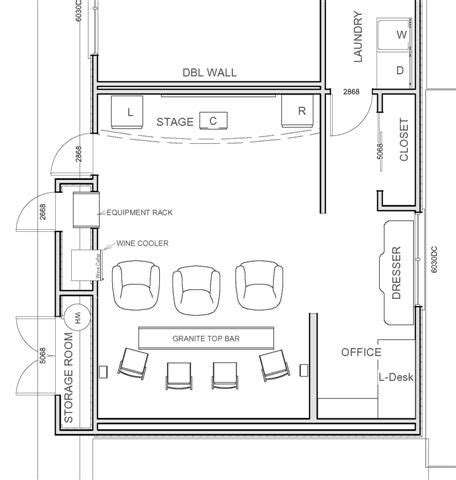 small home theater theater floor plans over 5000 house