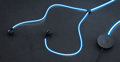 like glow headphones pulse to the and your