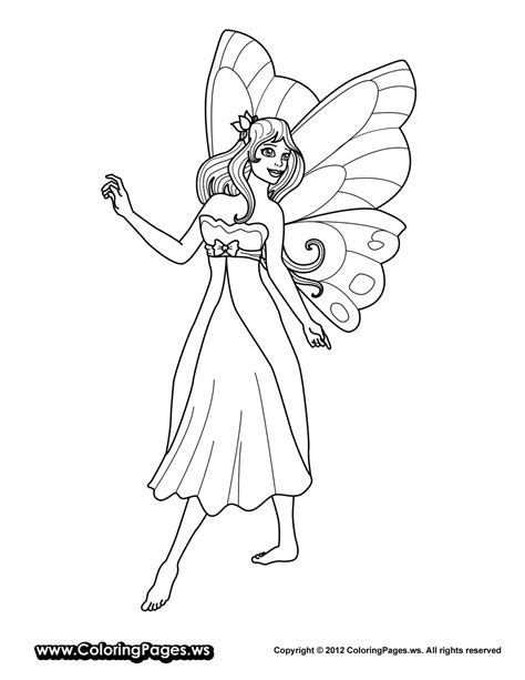 coloring pages of fairy princesses coloring page fairy princess coloring home