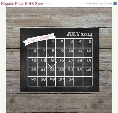 Pregnancy Calendar By Due Date 10 Ideas About Pregnancy Due Date Calendar On