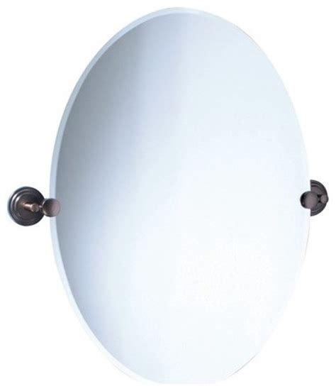 oil rubbed bronze bathroom mirror marina oval mirror in oil rubbed bronze modern
