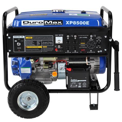 review 8500 watt portable gas powered rv cing home