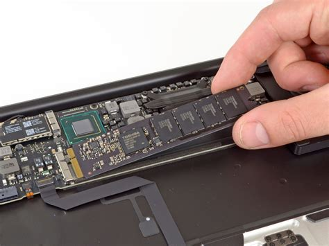 Ssd Macbook macbook air teardown reveals new ssd connector more ifixit