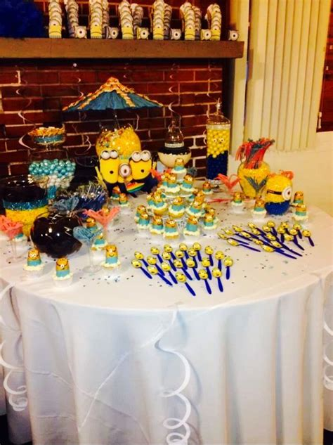 Minion Baby Shower Decorations by Minion Themed Baby Shower Baby Showers
