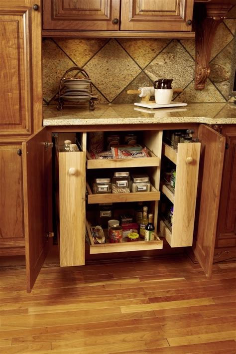 Pull Out Spice Rack Cabinet by Chef Cabinet And Spice Rack Pull Out Kbis Pressroom