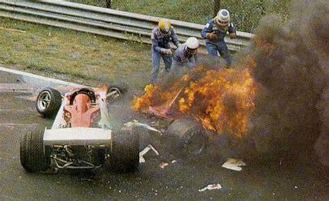 Niki Lauda's Horrific Nurburgring Crash Recreated   Video