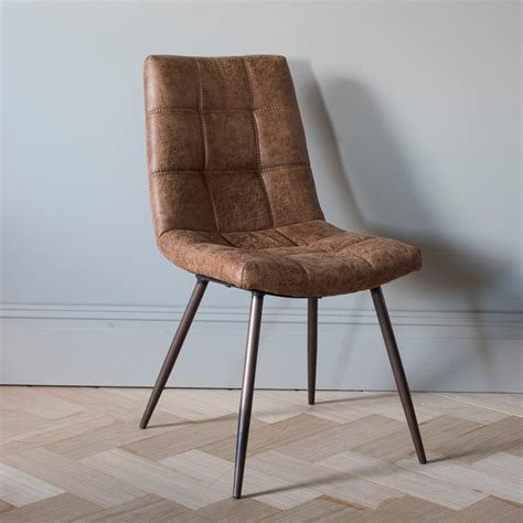 Dining Chairs Direct Buy Gallery Direct Darwin Brown Dining Chair Pair Cfs Uk