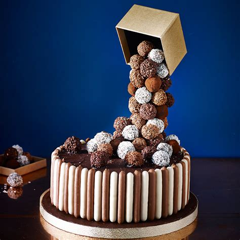 Cascading Chocolate Truffle Cake   Recipes   Lakeland