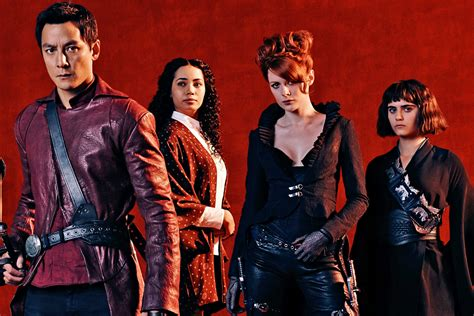 out of the badlands tv show exclusive meet the cast of amcs into the badlands