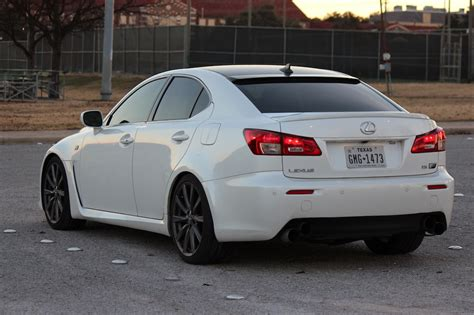 lexus isf tx 2008 lexus is f pearl white excellent condition isf
