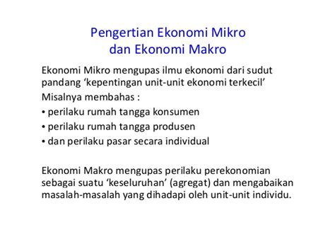 Pengantar Ekonomi Mikro Edisi Asia Mankiw pengantar ekonomi makro pertemuan 1