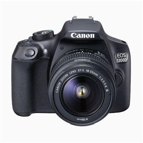 Kamera Canon Rebel T6 canon eos 1300d digital slr w 18 55mm lens target