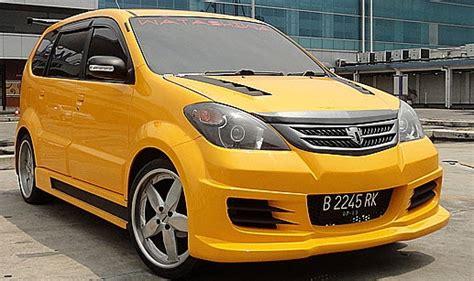 Lu Depan Avanza modifikasi mobil avanza 2008 modifikasi mobil