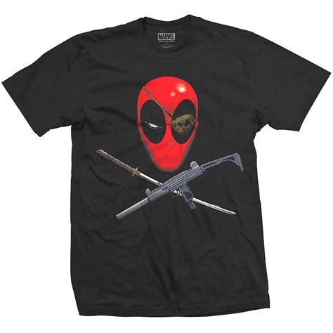 Kaos Deadpool Raglan Deadpool 16 notorius cinelibreria t shirt