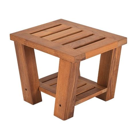 living earth crafts table teak side table living earth crafts