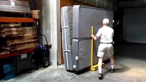 moving a king mattress set youtube
