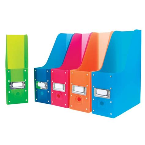 Magazine Set magazine holders color code your magazines and more