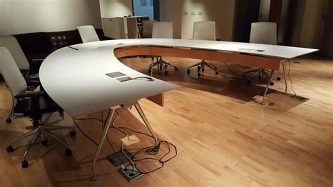 V Shaped Conference Table Used Office Conference Tables Custom Built V Shaped Conference Table At Furniture Finders