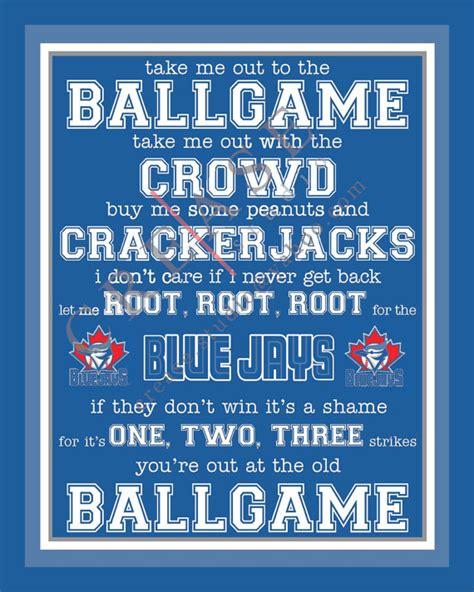 Blus Free To Be Me toronto blue jays take me out to the ballgame