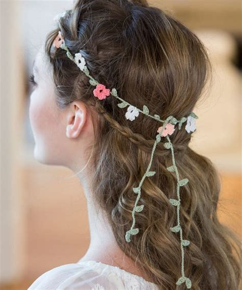 1000 images about diy wedding hair accessories on white flower crown diy hair