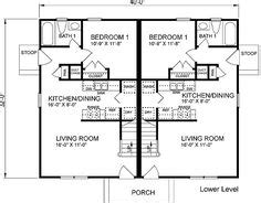 davis rustic duplex plan 055d 0866 house plans and more multi family house plan first floor 085d 0910 house