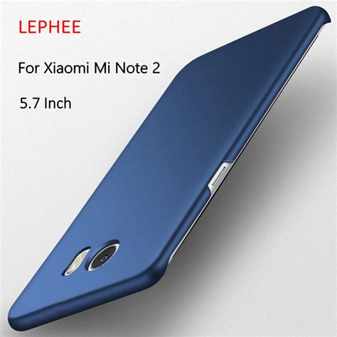Xiaomi Note 57 Inch Matte Hardcase lephee for xiaomi mi note 2 mi note2 cover pc matte