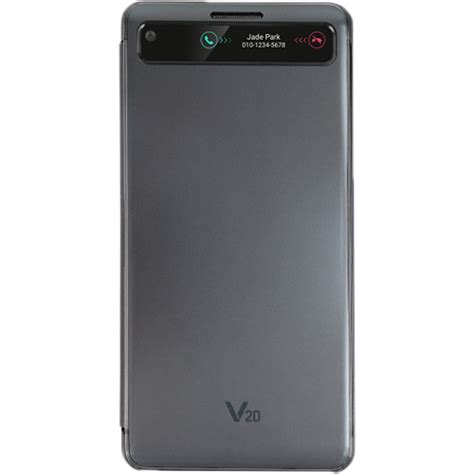 Softcase Slim Black For Lg V20 lg cover for the lg v20 black lgcfv 260