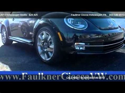 faulkner volkswagen allentown 2013 volkswagen beetle 2 0t turbo fender edition for