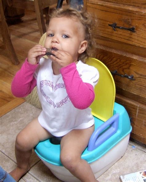 girl on toilet potty training little girls red gate farm