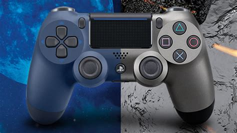dualshock 4 colors ps4 dualshock 4 midnight blue and steel black colors