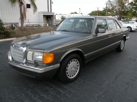 automobile air conditioning repair 1989 mercedes benz s class free book repair manuals 1989 mercedes benz 300sel for sale in fort myers fl stock 448973