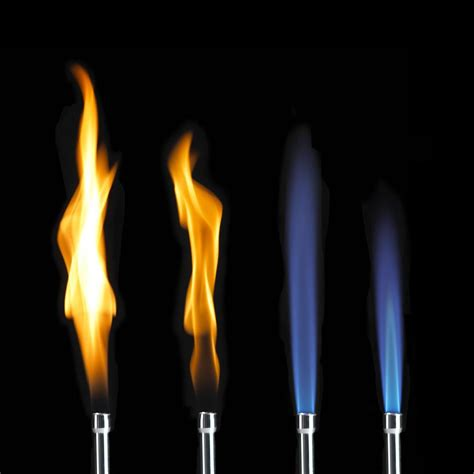color flames physical chemistry butane burning color chemistry