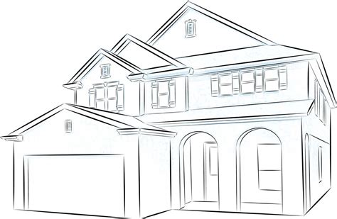 houses drawings house drawing pictures to pin on pinterest pinsdaddy