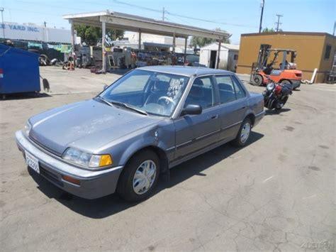 vehicle repair manual 1988 honda civic on board diagnostic system 1988 honda civic lx used 1 5l i4 16v manual no reserve