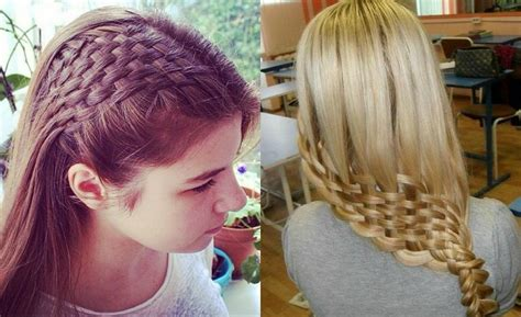Braids And Hairstyles by Awesome Basket Weave Braids Hairstyles Hairdrome