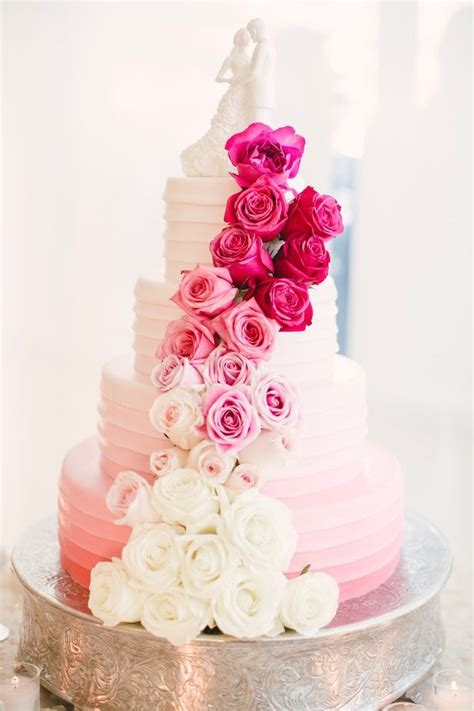 best 25 pink wedding cakes ideas on pink big wedding cakes blush pink wedding cake