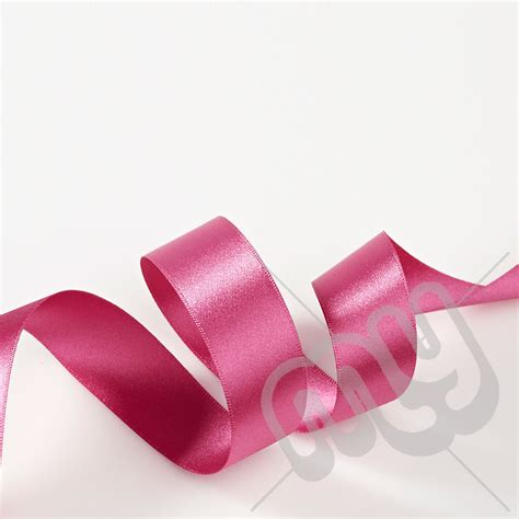 fuschia pink double satin ribbon 15mm x 20 metres my