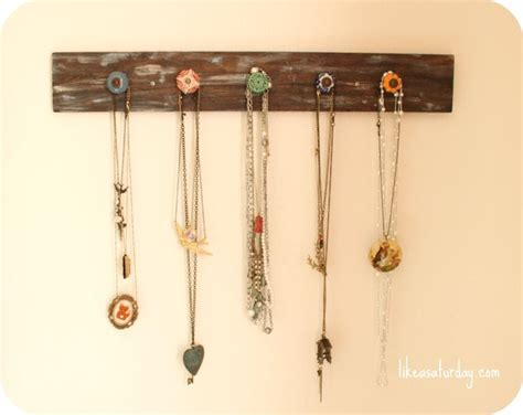 25 best ideas about necklace hanger on