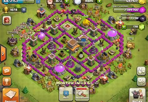 coc strong layout introducing the best town hall 8 defense farming base