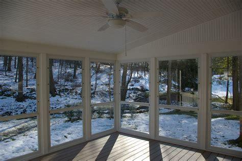 screen porch vs enclosed porch or sunroom custom decks